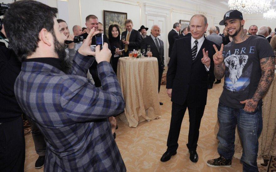 Michailas Galustianas, Vladimiras Putinas, Timati