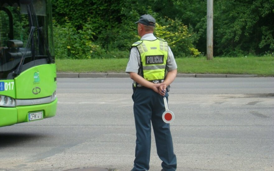 Pareigūnas, patrulis, reidas