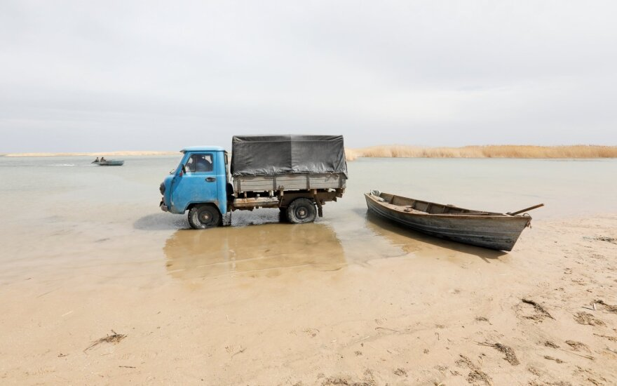 Dėl mirštančios jūros pavojus gresia 60 mln. žmonių