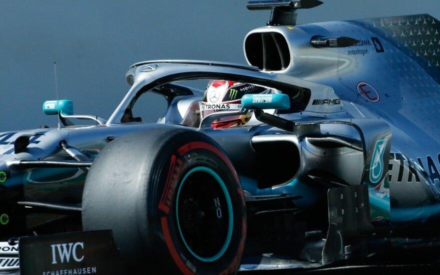 Ispanijos GP pergalę iškovojo Lewisas Hamiltonas