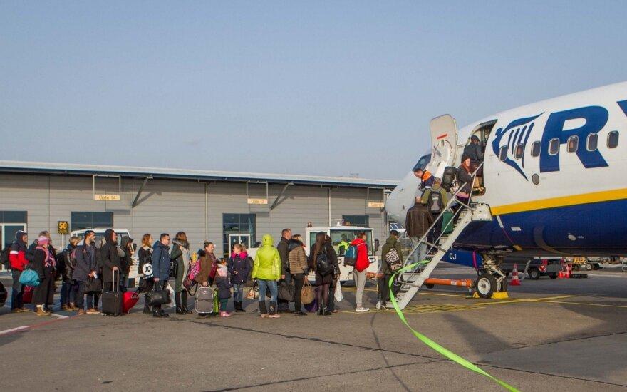 """""""Ryanair"""" atstovas apie Vilnių: jei kainos kils, tai – problema"""