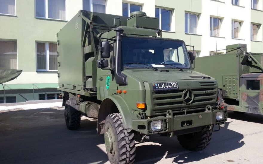 Some 110 new trucks delivered to Lithuanian Armed Forces