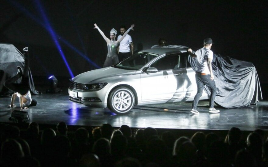 Volkswagen Passat pristatymas
