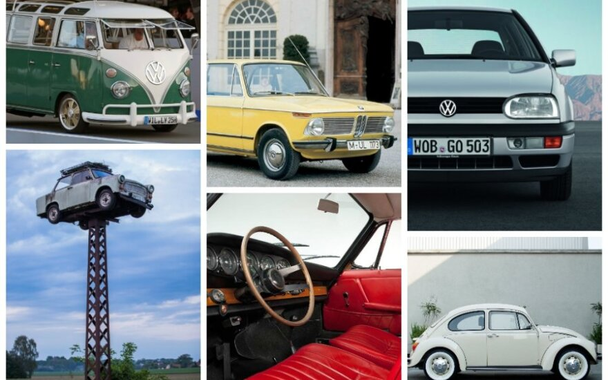 Legendiniai Vokietijos automobiliai