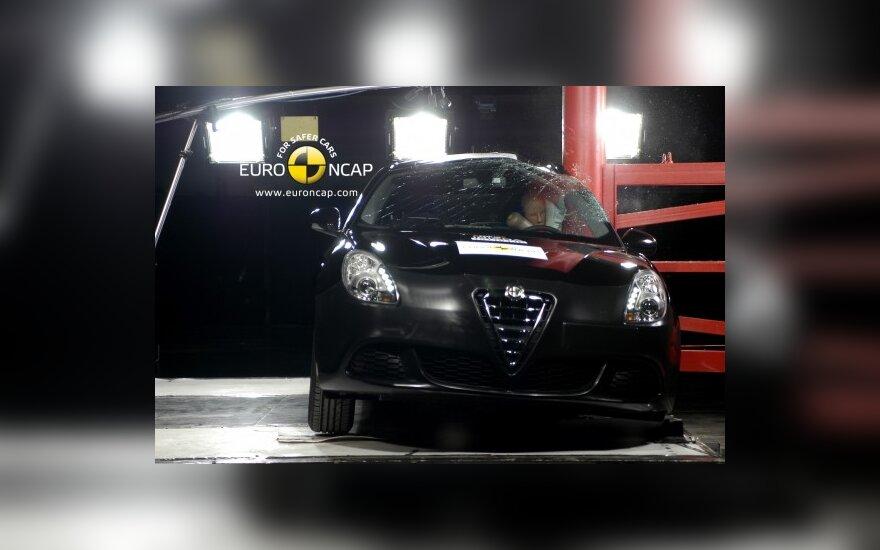 Euro NCAP bandymai: Alfa Romeo Giulietta