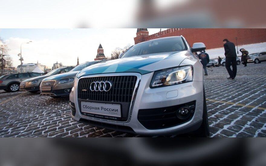 Rusijoje automobilių pardavimai išaugo 32 proc.