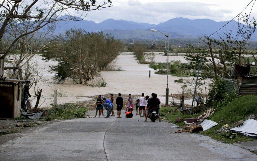 Taifūnas Filipinuose