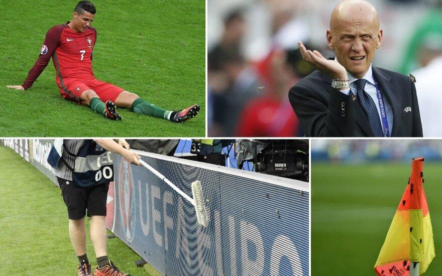 Drugių antplūdis Euro 2016 finale (AP, Reuters ir Sputnik nuotr.)