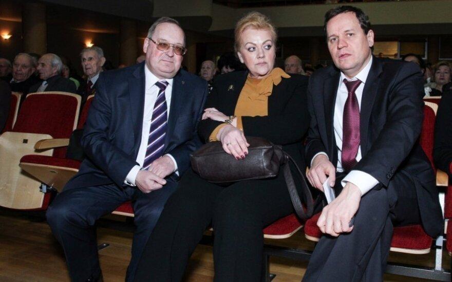 Tyrimą atliekantis Seimo komitetas kviečiasi Rozovą ir Tomaševskį