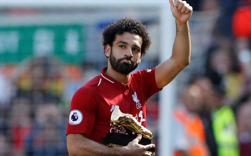 """""""Egipto karalius"""" Salah pratęsė sutartį: lieka karaliauti Liverpulyje"""