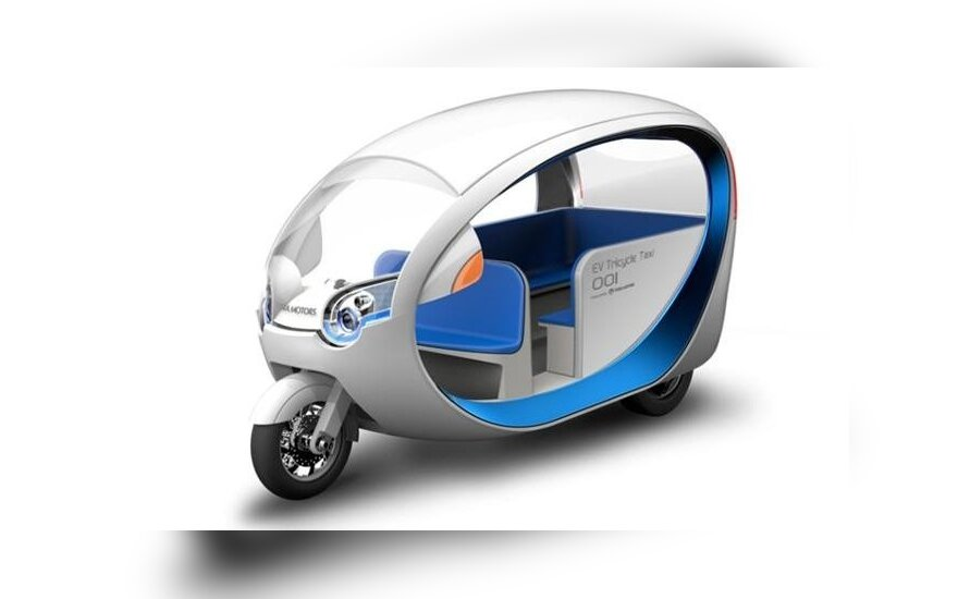 Terra Motors E-Tricycle