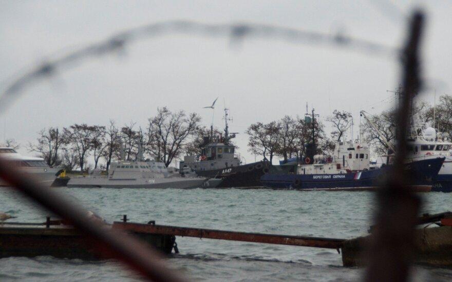 Ukraina ragina tarptautinę bendruomenę reaguoti į Rusijos agresiją