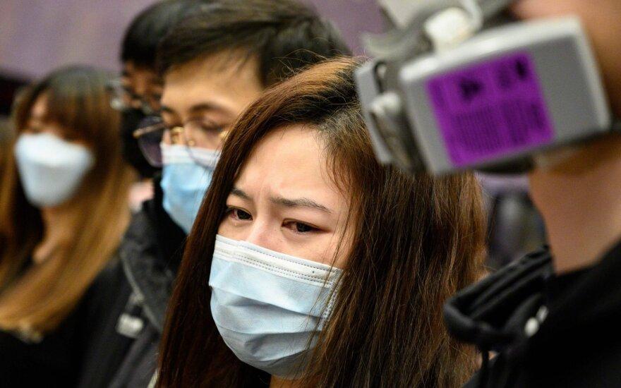 Nuo Kinijos koronaviruso jau mirė 722 žmonės