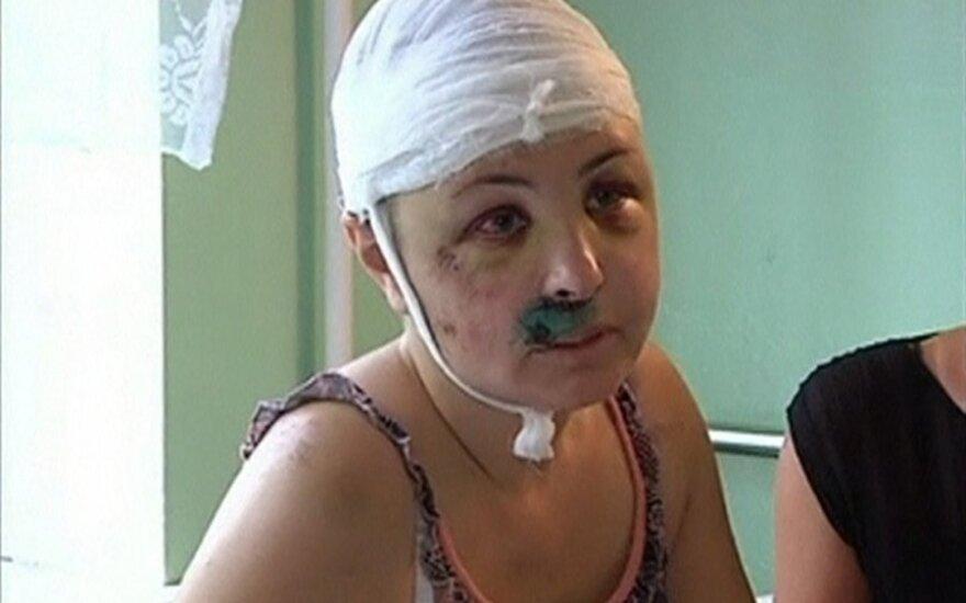 Ukrainoje brutaliai grupiniu būdu išžaginta moteris