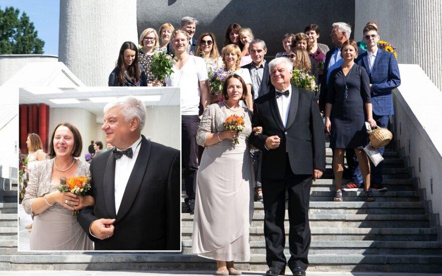 Rimanto Vaitkaus ir Marijos Šykovienės vestuvės