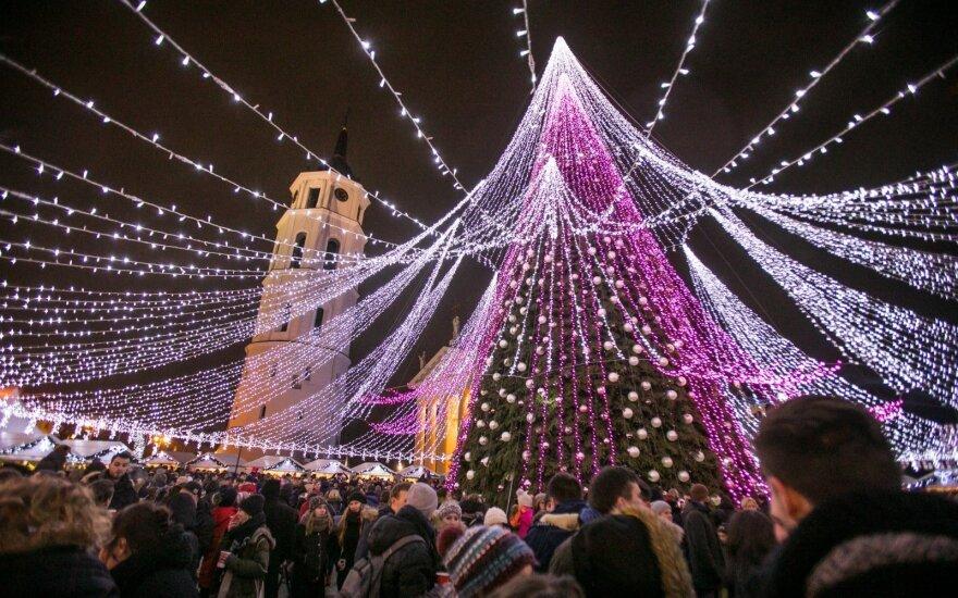 Vilniaus eglutę liaupsina britų žiniasklaida