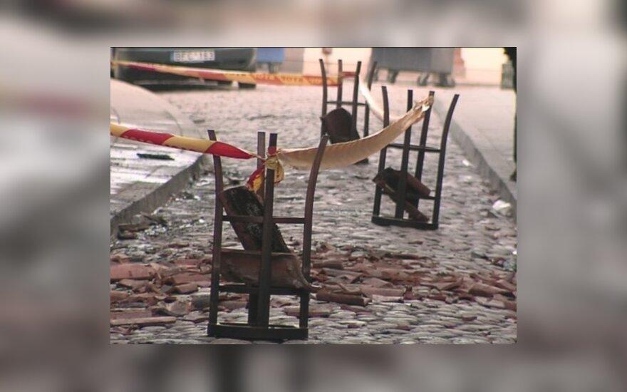 "Vilniuje vėl sudegė baras ""Brodvėjus"""