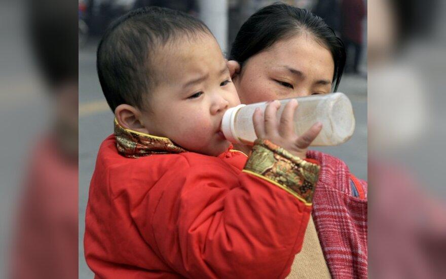 Kinijos vyriausybė remia dviejų vaikų politiką