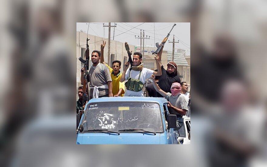 Irakiečiai, Irakas, Irako kovotojai, ginkluoti irakiečiai