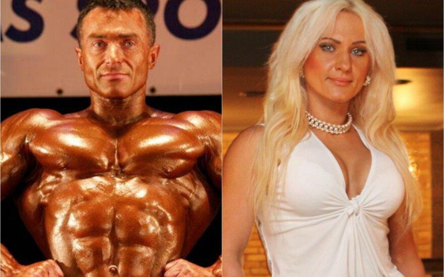 Jurijus Solionovas ir Ilona Kokoš