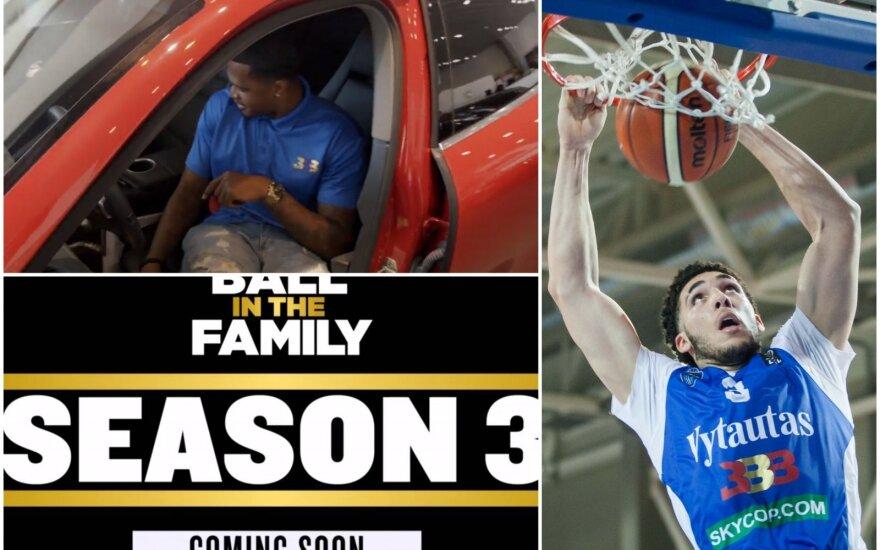 """Lonzo Mallo treneris, naujasis """"Ball in the family"""" sezonas jau greitai ir LiAngelo Ballas"""