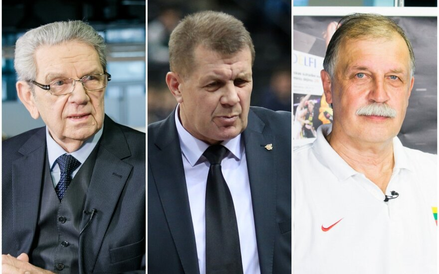 Vladas Garastas, Antanas Sireika, Algimantas Pavilonis