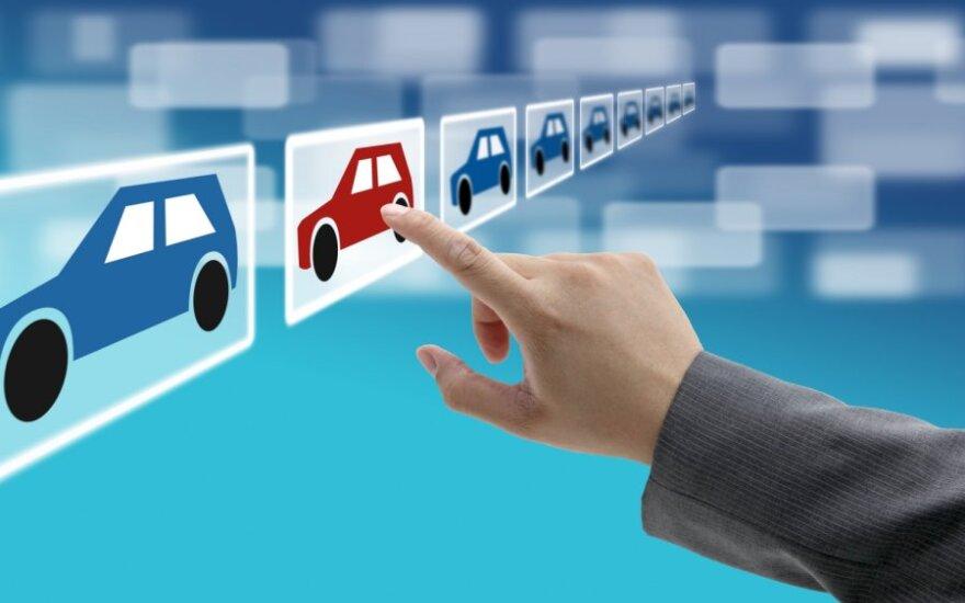 Automobiliai internete