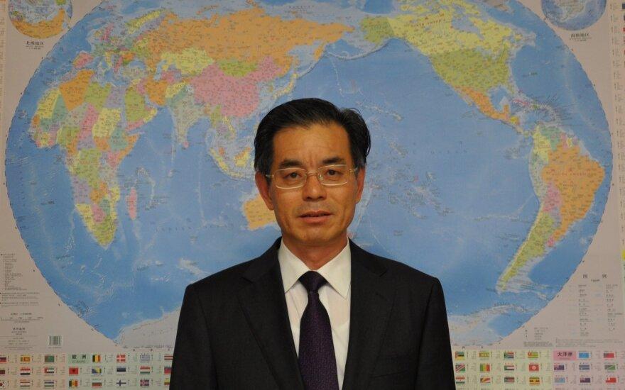 Wei Ruixing, Chinese Ambassador to Lithuania