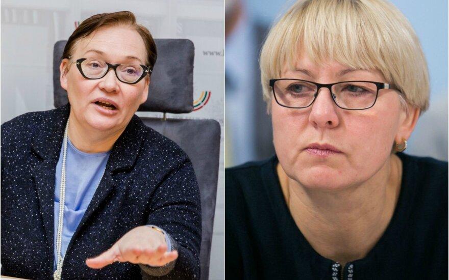 Aušra Maldeikienė ir Asta Kubilienė