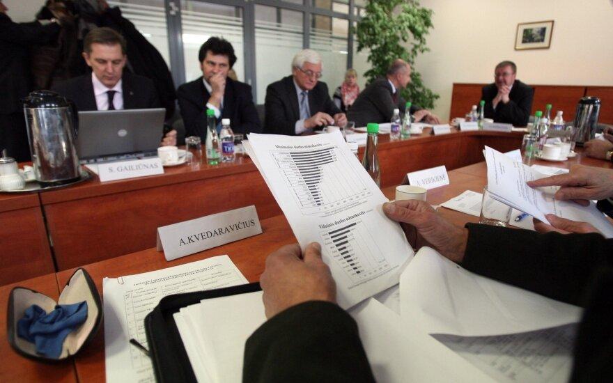 S. Skvernelis antradienį susitinka su Trišalės tarybos atstovais
