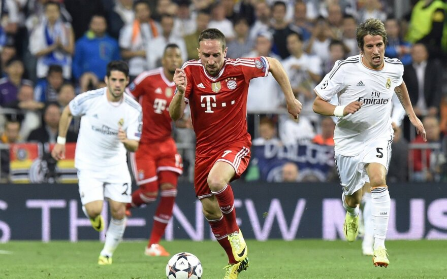 """Franckas Ribery atakuoja """"Real"""" vartus"""