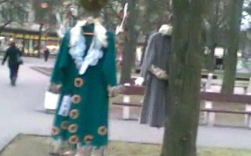 Kalėdiniai papuošimai Panevėžyje apstulbino gyventojus