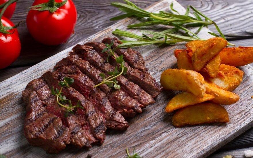 Kaip tobulai iškepti mėsą?