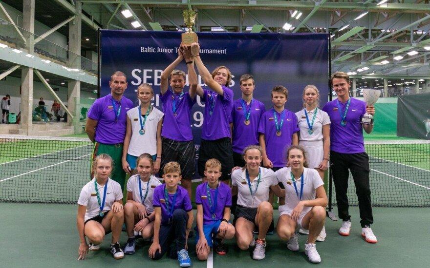 "Lietuvos komanda ""Futures Cup"" teniso turnyre"