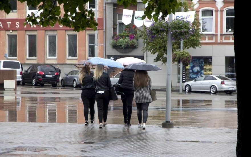 Rain in Panevėžys
