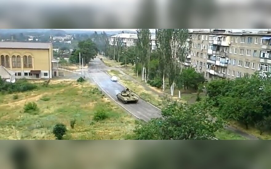 Ministras: Ukrainos sieną kirto rusų tankai