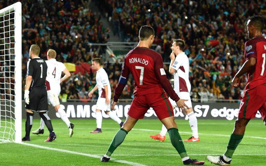 Portugalija - Latvija, Cristiano Ronaldo