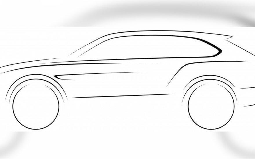 Bentley visureigio eskizas