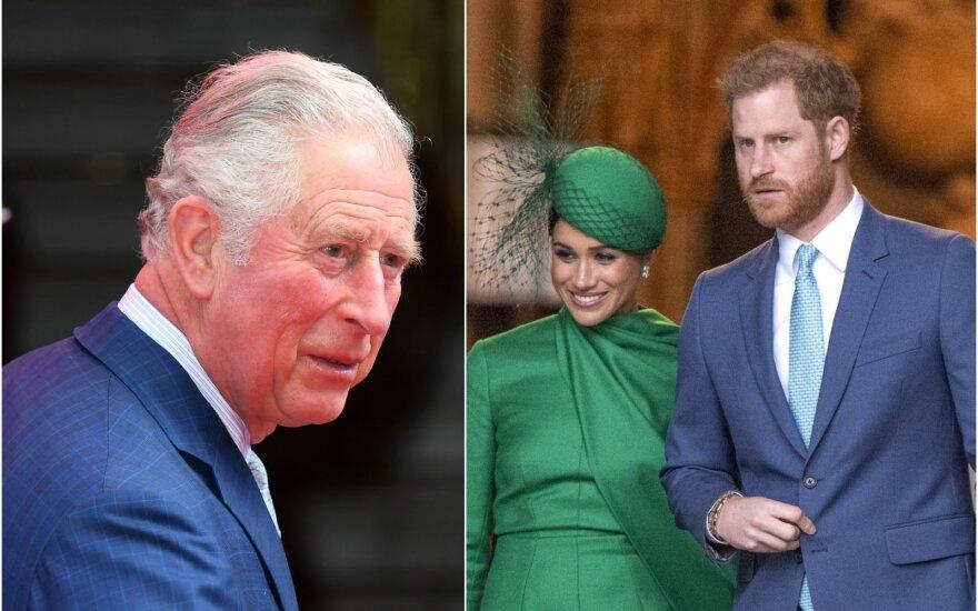 Princas Charlesas, Meghan Markle, princas Harry
