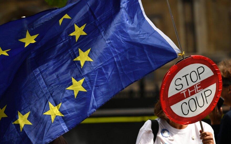 """JK premjeras kalba apie """"didžiulę"""" pažangą """"Brexit"""" derybose"""