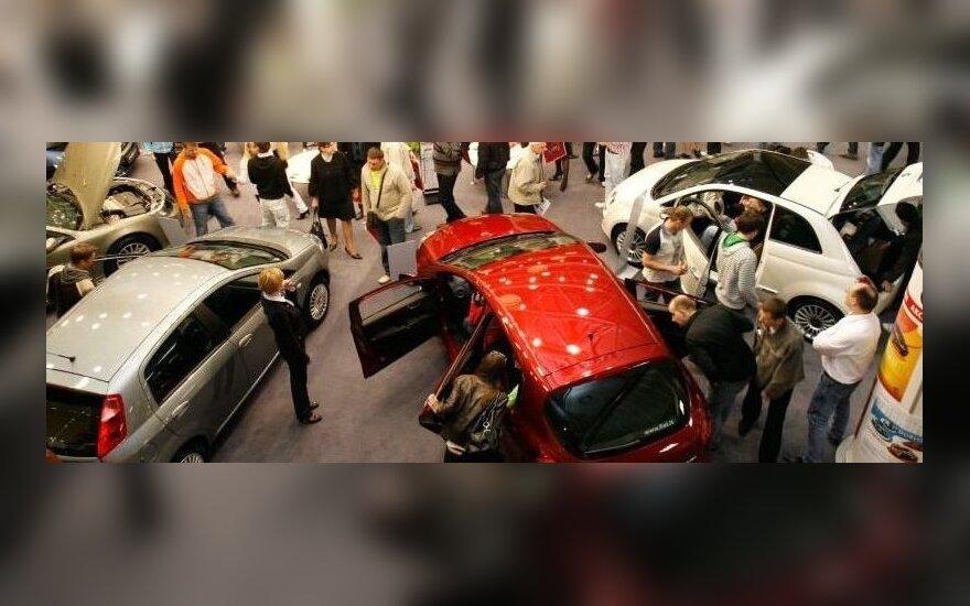 Automobilių parodoje Vilniuje – beveik 100 dalyvių