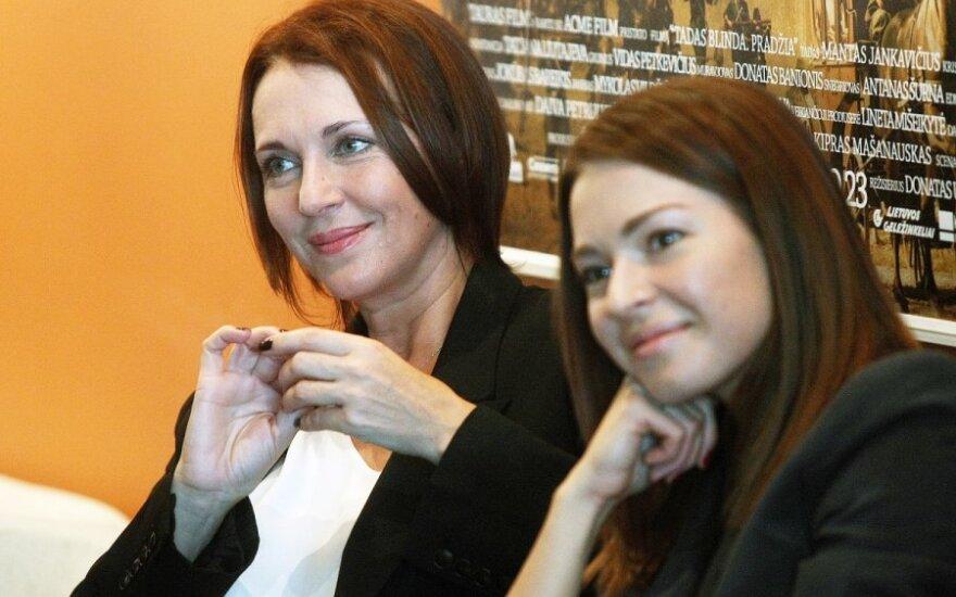 Tatjana Liutajeva ir Agnė Ditkovskytė