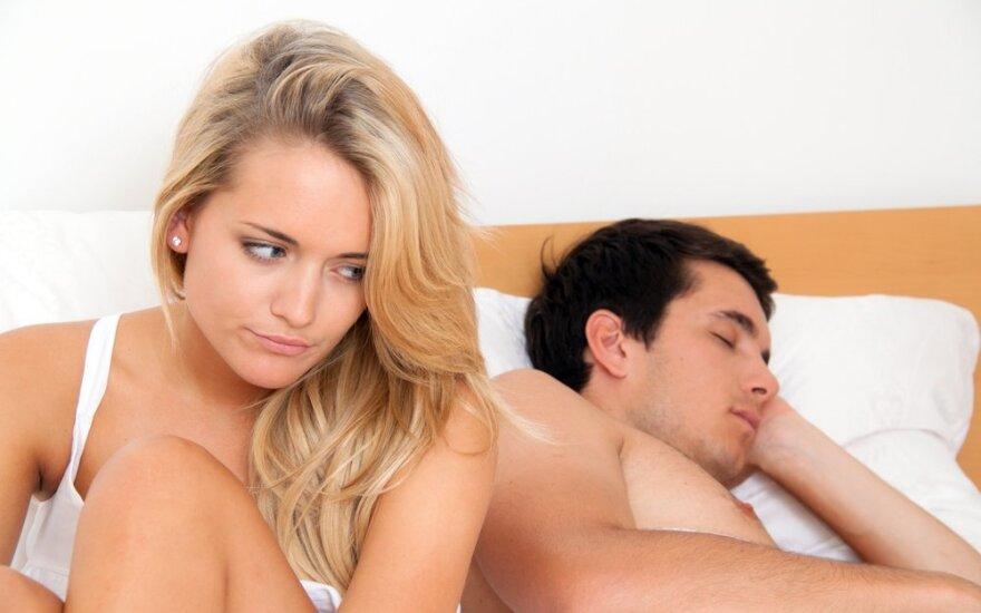 Priežastys, dėl kurių sutuoktinį gali nustoti dominti seksas