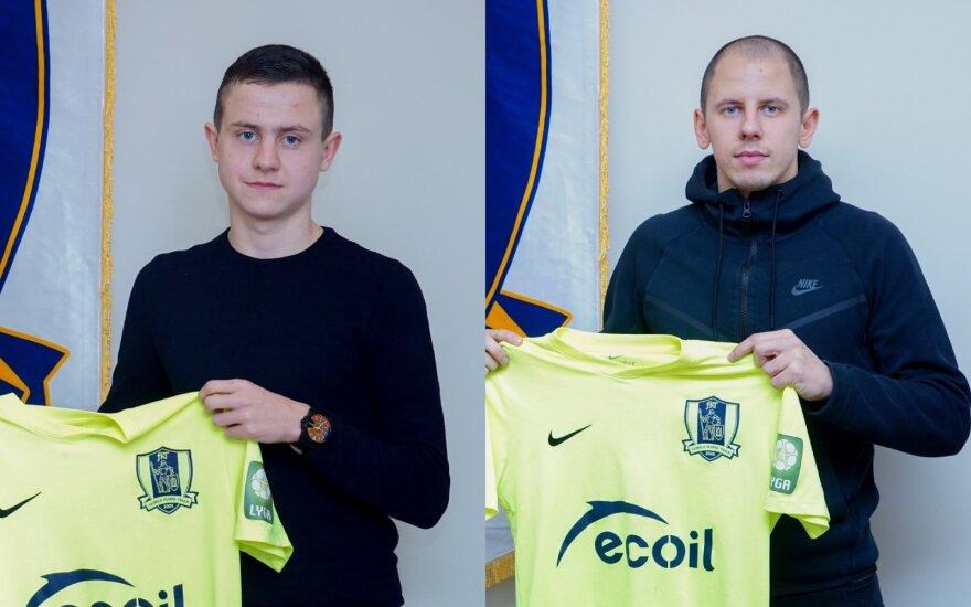 Valdas Paulauskas (kairėje), Mindaugas Grigaravičius