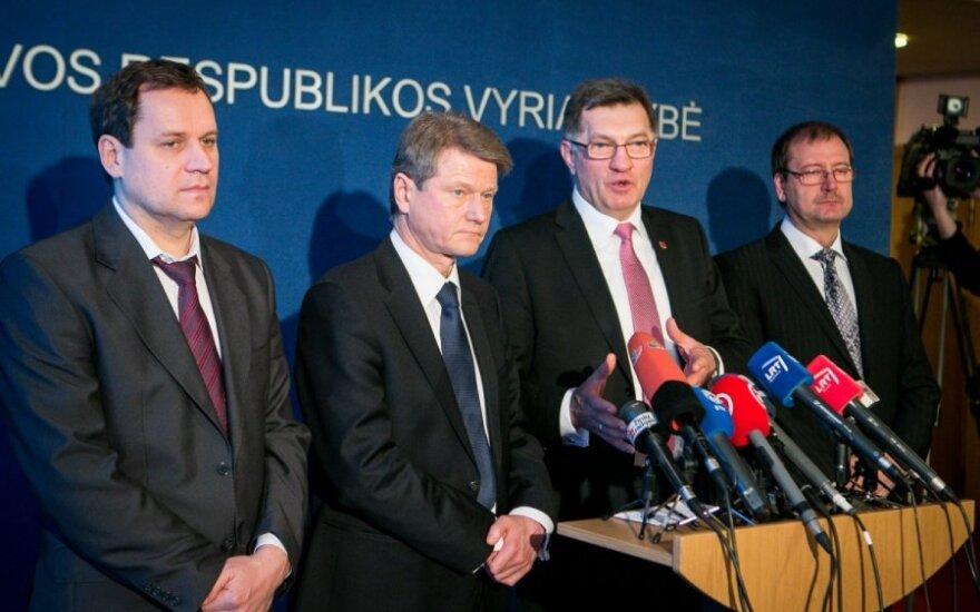 Valdemar Tomaševski, Rolandas Paksas, Algirdas Butkevičius ir Viktoras Uspaskichas