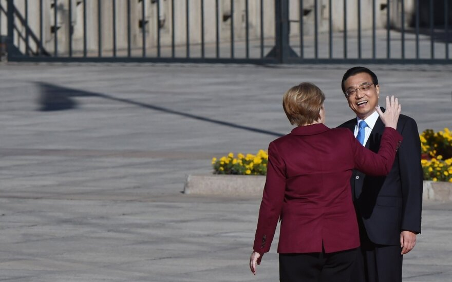 Angela Merkel, Kinijos premjeras  Li Keqiangas