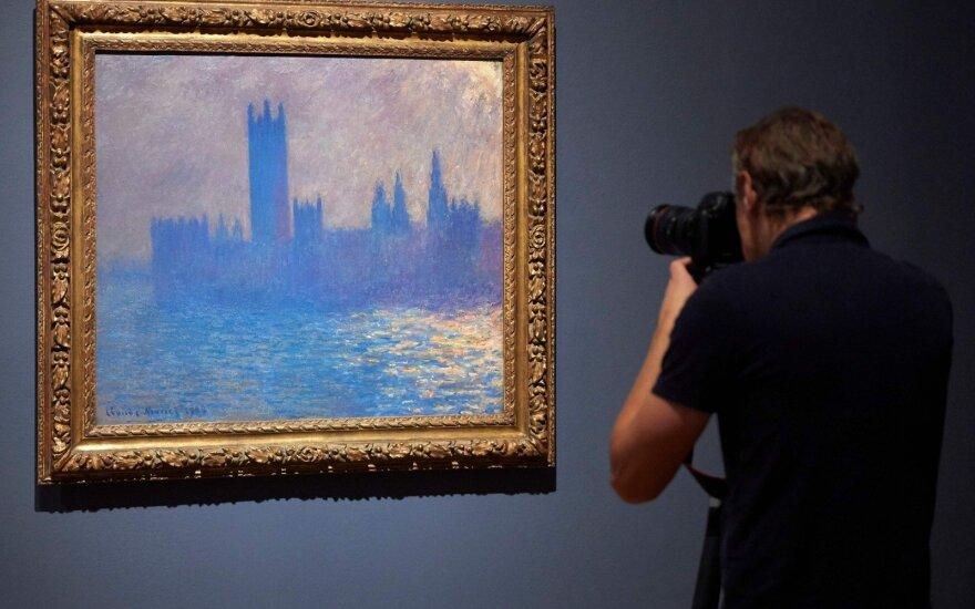 Claude'o Monet paveikslas