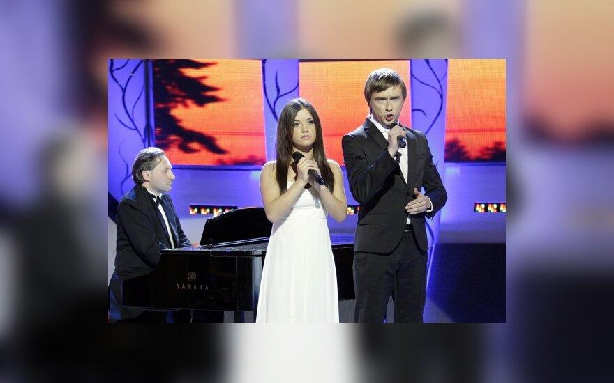 Irūna Puzaraitė ir Marius Jampolskis