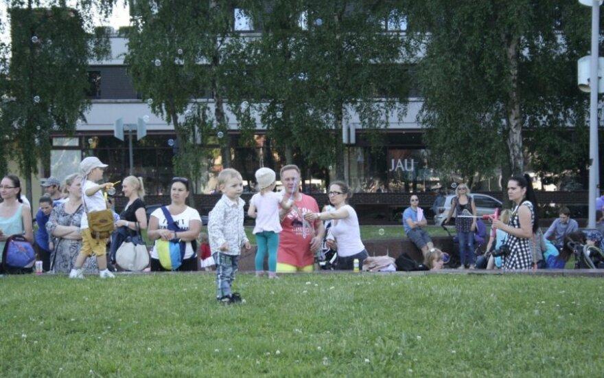 Klaipėdoje – muilo burbulų fiesta