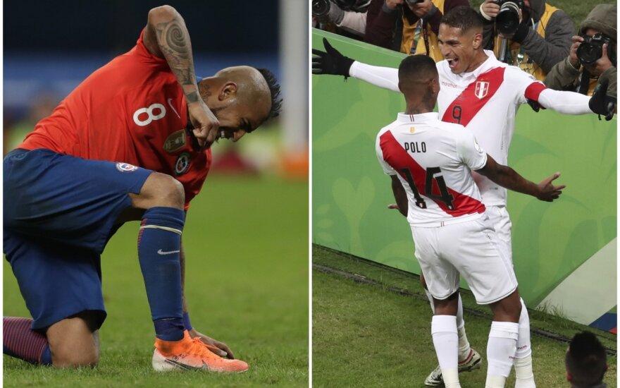 """Copa America"" pusfinalis: Čilė - Peru"